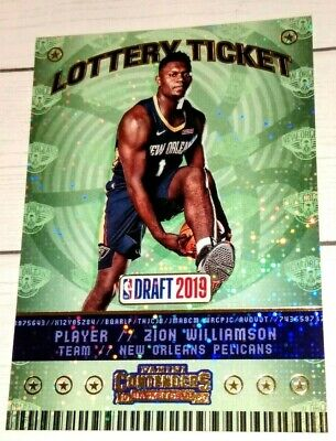 $22.50 • Buy Zion Williamson Rookie 2019-20 Panini Contenders  Lottery Ticket #1 2019 2020 $$