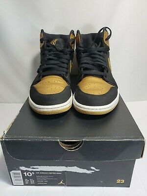 $119.99 • Buy Nike Air Jordan 1 Retro High Melo PE Series Gold Toe 332550-026 10.5 Black Gold