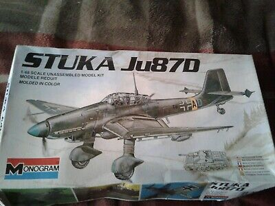 $23.25 • Buy Monogram Stuka Ju87D 1/48 Scale