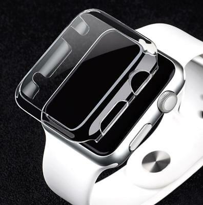 $ CDN3.23 • Buy PC Screen Guard Protector Case For Apple Watch 4 5 Series 3/2/1 38/42MM 40/44mm