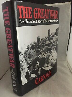 £22 • Buy The Great War: 4: Carnage By Trident Press(Hardback)
