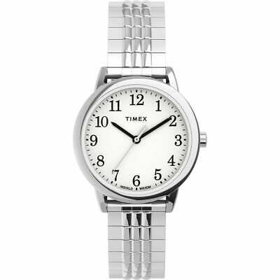 Timex TW2U08600, Easy Reader, Women's, Silvertone Expansion, Indiglo • 33.52£