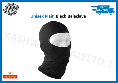 Balaclava 100% Cotton Motorcycle Motorbike Ski Bike Head Neck Warmer Face Mask • 2.99£