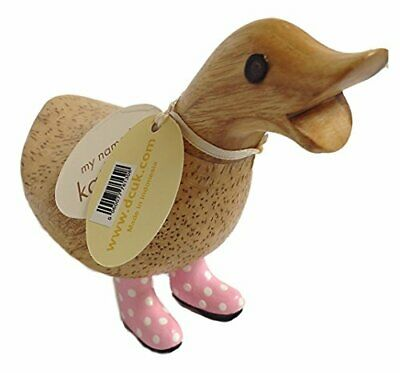 £15.31 • Buy DCUK, The Duck Company - GNatural Welly Ducky - Spotty Pink Boots - Small