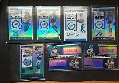 $ CDN4.23 • Buy Ty Johnson David Blough Fulgham Tavai Contenders Optic Rookie Ticket Auto RC Lot