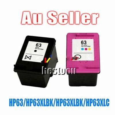 AU28.81 • Buy 2 Ink For HP 63 XL For HP 63 Officejet 2620 For ENVY 4500 QM