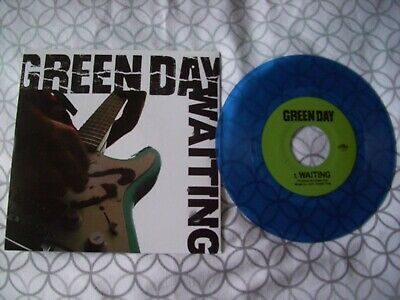 Green Day Waiting Clear Blue 7  Vinyl New  • 12£
