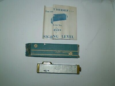 $19.49 • Buy VINTAGE 1950's SWIFT & ANDERSON HAND SIGHTING LEVEL IN BOX WITH DIRECTIONS