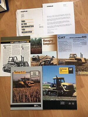 $19.99 • Buy Vintage Caterpillar Complete Promo Packet Challenger Tractors W/ Letter