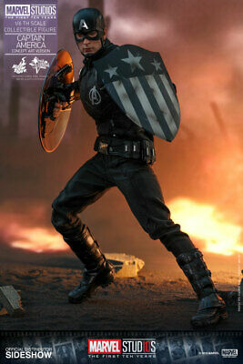 $429.99 • Buy Sideshow Collectibles Hot Toys Marvel Captain America Concept Art Mms 1/6 Scale