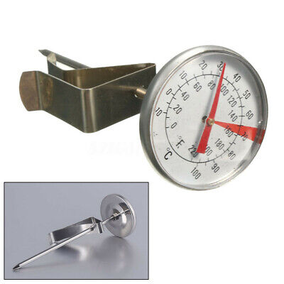 £5.65 • Buy -10-100℃ Clip On Milk Frothing Thermometer For Jug Candle Soap Jam Coffee Making