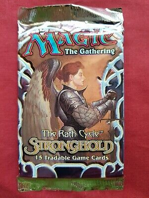 AU67.50 • Buy Magic The Gathering STRONGHOLD New Sealed Booster Pack MTG