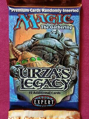AU67.95 • Buy Magic The Gathering URZA'S LEGACY New Sealed Booster Pack MTG