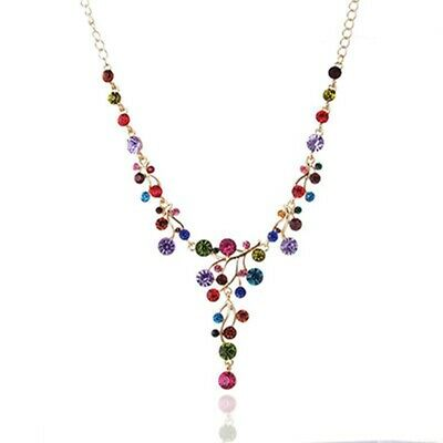 AU7.87 • Buy Necklace For Women Diamond Women Necklace Chain Home Decor Colorful Jewelry BB