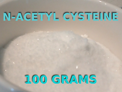 AU14.99 • Buy N-acetyl Cysteine (nac) Powder [100 Grams] - Detox