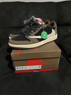 $255.99 • Buy Travis Scott Air Jordan 1 Retro Low Og. Size 10