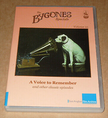 Bygones Specials  A Voice To Remember Nipper Dog HMV The Singing Postman+ DVD • 15£