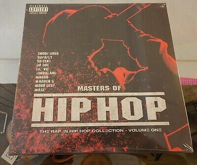 Masters Of Hip Hop - Various Artists Compilation - Vinyl LP Record - New Sealed • 11.95£
