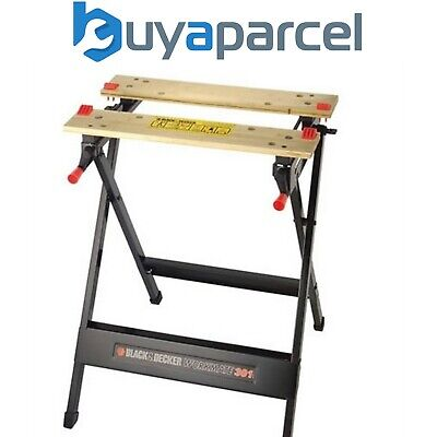 £33.20 • Buy Black And Decker WM301 Series Workmate Work Bench Vice Stand Saw Horse WM301-XJ