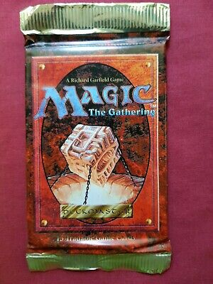 AU35.95 • Buy Magic The Gathering 4TH EDITION FOURTH New Sealed Booster Pack MTG