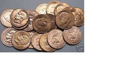 $38.95 • Buy 1971-1978 ~~ ONE (20 Coin) ROLL ~ EISENHOWER MIXED DATE DOLLARS
