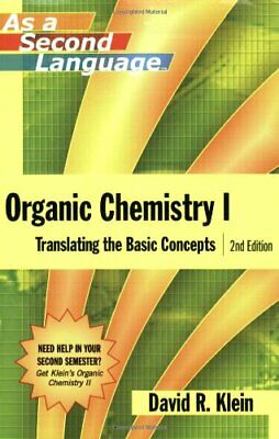 $4.95 • Buy [P.D.F] Organic Chemistry I As A Second Language: Translating The Basic Concepts