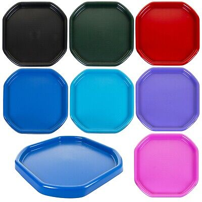 70cm Square Mixing Spot Tray Kids Children Sand Toy Water Pool Paint Builders • 14.99£