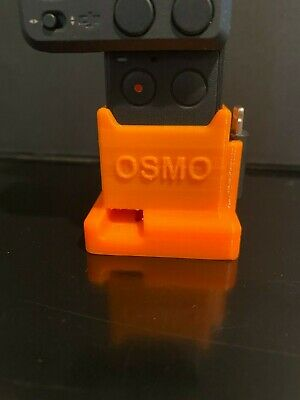 $10 • Buy 3D Printed DJI Osmo Pocket Tripod Mount (Sturdy)