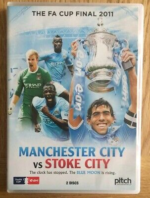 Manchester City Vs Stoke City FA Cup Final 2011 2x DVD • 14.99£