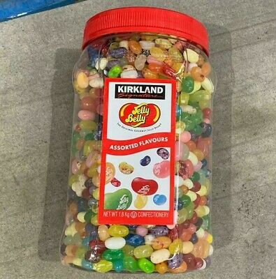 Jelly Belly Bean Bulk Jar 1.8kg 44 Flavours Sweets Kirkland Signature • 30.99£