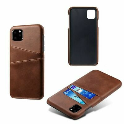 Luxury Faux Leather Card Holder Slot Case For IPhone 12 11 Pro Max X XR XS 8 7 • 9.04£