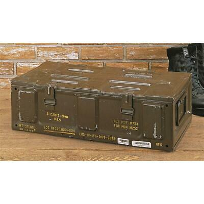 $78.64 • Buy 81mm Brown Ammo Can U.S. Military Surplus Issue Storage Organizer Collectible