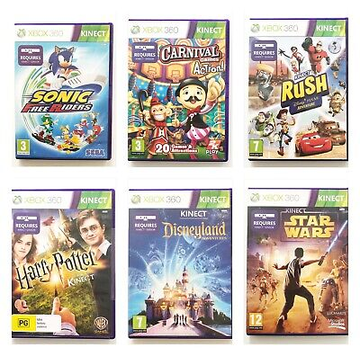 Xbox 360 Kinect Games | Choose Title | Dance, Sports, Harry Potter, Carnival • 7.97£