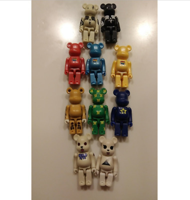 $151 • Buy Rare BE@RBRICK Toys R Us And Other Bearbrick  Medicom Toy Limited Lot Of 10