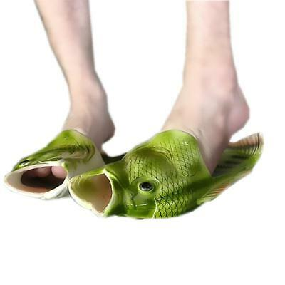 $ CDN10.27 • Buy Sandals Tricky Simulation Fish Slippers Creative Style Beach Shoes Women Men BS