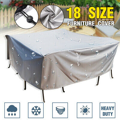 AU30.02 • Buy Outdoor Furniture Cover UV Waterproof Garden Yard Table Chair Shelter Protector