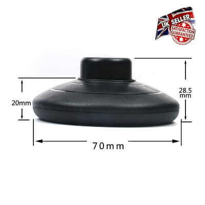 Foot Switch For Lamp Or Light - Floor Switch For Lamp In Black • 4.95£