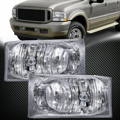 $52.37 • Buy Headlights Pair Left Right Set Fits Ford F-Series Super Duty 99-04