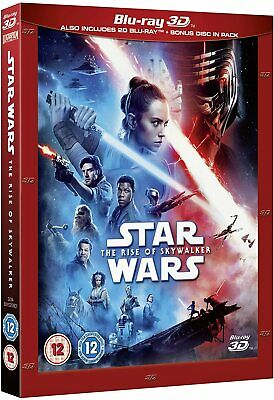 AU34.17 • Buy Star Wars THE RISE OF SKYWALKER 3D + 2D Blu-Ray With Slipcover NEW Free Ship