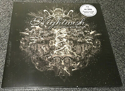 NIGHTWISH-ENDLESS FORMS MOST BEAUTIFUL-2015 2xLP SILVER VINYL-LIMITED TO 200-NEW • 61.99£
