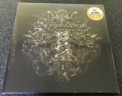 NIGHTWISH-ENDLESS FORMS MOST BEAUTIFUL-2015 2xLP GOLD VINYL-LIMITED TO 300-NEW • 44.99£