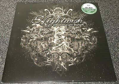 NIGHTWISH-ENDLESS FORMS MOST BEAUTIFUL-2015 2xLP GREEN VINYL-LIMITED TO 300-NEW* • 39.99£
