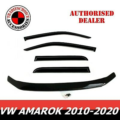 AU104.99 • Buy Bonnet Protector Guard And Weather Shields Fit VOLKSWAGEN VW Amarok 2010-2020