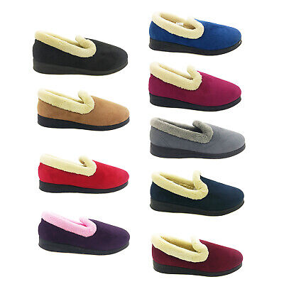 AU39.95 • Buy Ladies Slippers Panda Emille Soft Microsuede Upper Wider Comfy Size 5-10