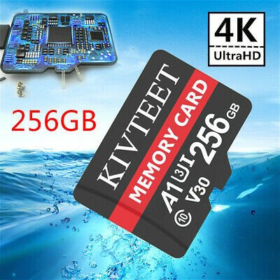 $11.11 • Buy Ultra Micro Memory Card 256GB Class10 Flash TF 98MB/s For Phone Tablet Camera