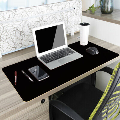 £18.19 • Buy Non Slip Dual Side PU Leather Desk Pad Keyboard Mouse Protector Mat 47x23.5in