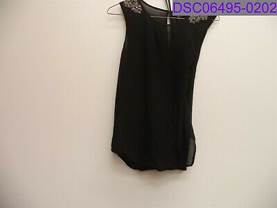 AU24.46 • Buy Used Forever New Women's Black Dress Size 160/84A