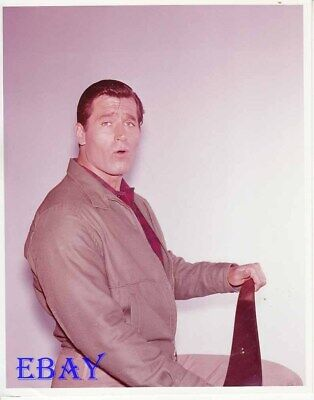 $44 • Buy Clint Walker Sings Candid RARE Color Photo
