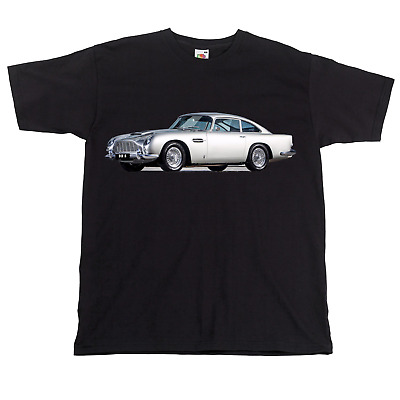Aston Martin DB5 T Shirt Classic Car Tshirt James Bond T • 12.95£