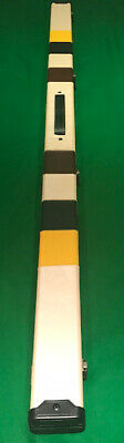 Snooker/pool 1 Piece Cue Case. Cream/brown/black & Yellow Design. Free Delivery! • 45.95£